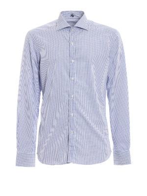 FAY: camicie - Camicia in cotone a quadretti