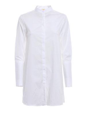 Fay: shirts - Guru collar oversize shirt