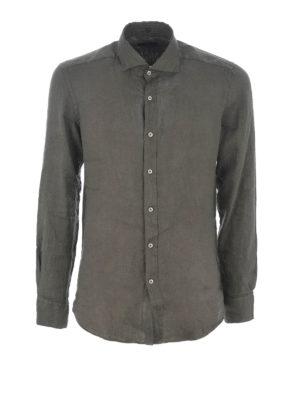 Fay: shirts - Linen shirt