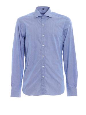 FAY: camicie - Camicia classica in cotone fantasia