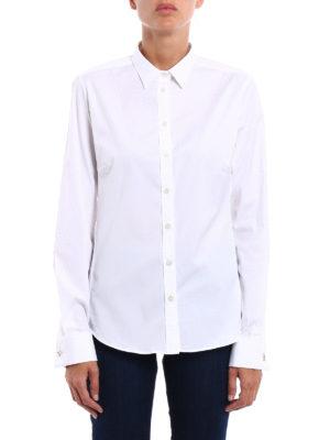 Fay: shirts online - Carabiner cufflinks shirt