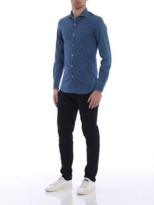 Fay: shirts online - Denim classic shirt