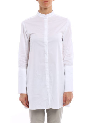 Fay: shirts online - Guru collar oversize shirt
