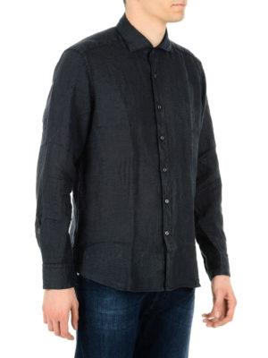 Fay: shirts online - Linen shirt