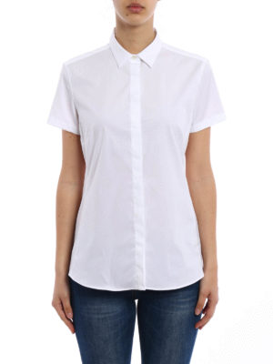 Fay: shirts online - Short sleeves cotton shirt