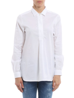 Fay: shirts online - Stretch cotton over shirt