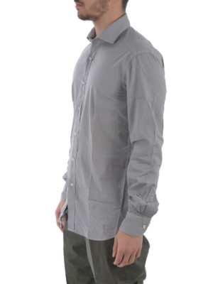Fay: shirts online - Stretch poplin cotton shirt