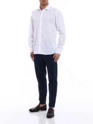 Fay: shirts online - White cotton classic shirt