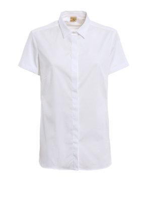 Fay: shirts - Short sleeves cotton shirt