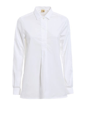 Fay: shirts - Stretch cotton over shirt