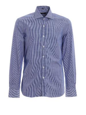 FAY: camicie - Camicia classica in cotone a righe