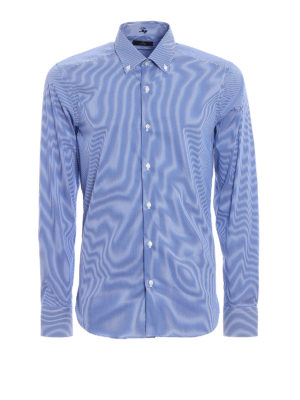 Fay: shirts - Striped pattern b/d shirt