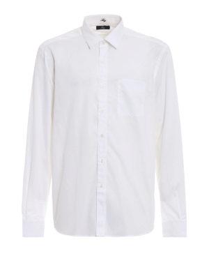 FAY: camicie - Camicia in cotone bianca