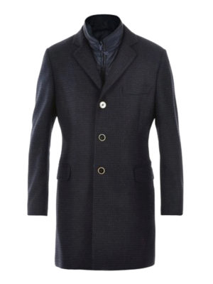 Fay: short coats - Cashmere and wool double coat
