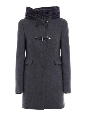 Fay: short coats - Classic double front duffle coat