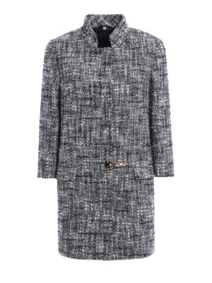 Fay: short coats - Cotton tweed coat