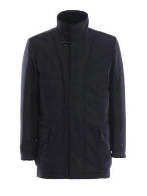 FAY: cappotti corti - Cappottino con double front e imbottitura