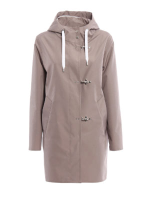 Fay: short coats - Hooded raincoat