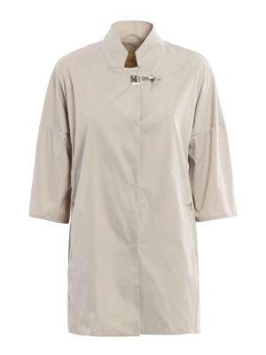 Fay: short coats - Lightweight nylon overcoat