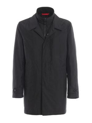 dde2a989493b60 FAY: cappotti corti - Cappotto Morning con double front