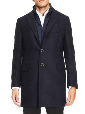 Fay: short coats online - Cashmere and wool double coat