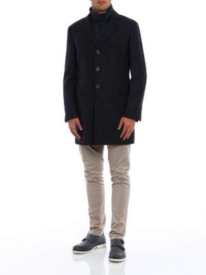 Fay: short coats online - Cashmere blend double coat