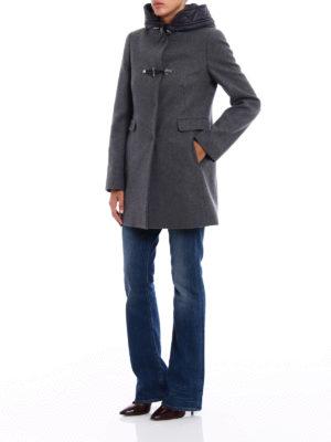 Fay: short coats online - Classic double front duffle coat
