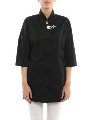 Fay: short coats online - Lightweight nylon overcoat