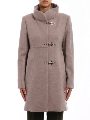 Fay: short coats online - Romantic wool blend cloth coat