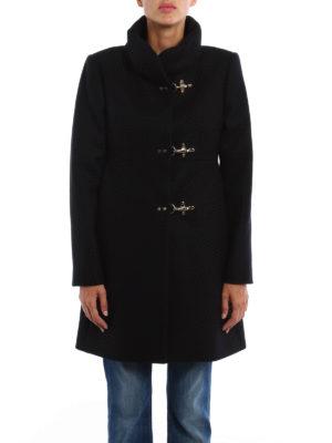 Fay: short coats online - Romantic wool blend coat