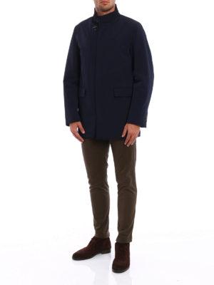 Fay: short coats online - Techno fabric urban coat