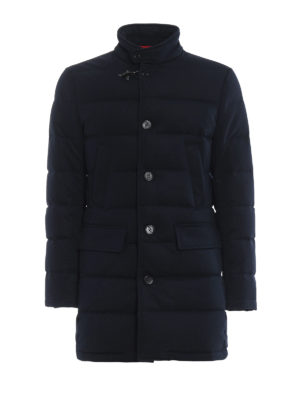 FAY: cappotti corti - Piumino stretch in tessuto tecnico trapuntato