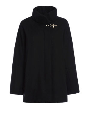Fay: short coats - Romantic short cape coat