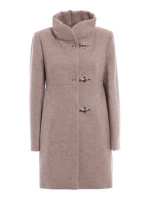 Fay: short coats - Romantic wool blend cloth coat