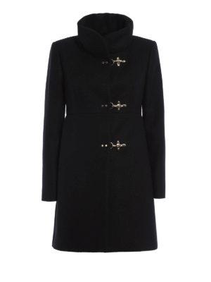 Fay: short coats - Romantic wool blend coat