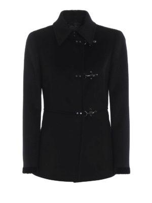 FAY: cappotti corti - Cappottino Virginia in lana e cashmere