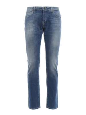 Fay: skinny jeans - Low rise five pocket jeans