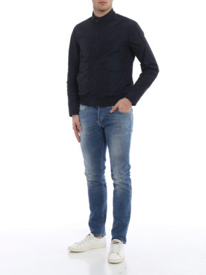 Fay: skinny jeans online - Low rise five pocket jeans