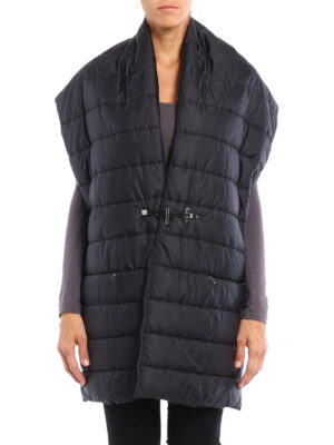 Fay: Stoles & Shawls online - Quilted padded nylon stole