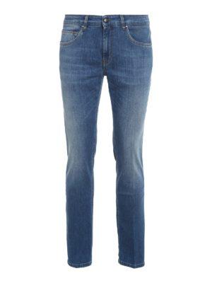 FAY: straight leg jeans - Cotton blend straight leg jeans