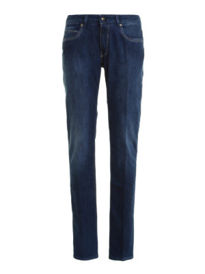 Fay: straight leg jeans - Denim five pocket jeans
