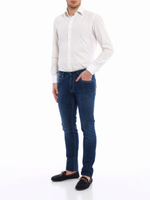Fay: straight leg jeans online - Slim fit straight leg jeans