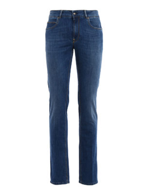 Fay: straight leg jeans - ST 196 light wash jeans