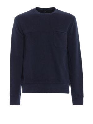 Fay: Sweatshirts & Sweaters - Chest pocket sweatshirt
