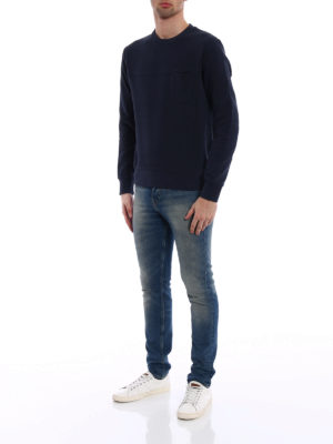 Fay: Sweatshirts & Sweaters online - Chest pocket sweatshirt