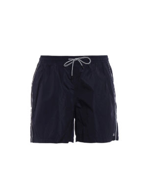 FAY: Costumi piscina e boxer - Costume in nylon con logo