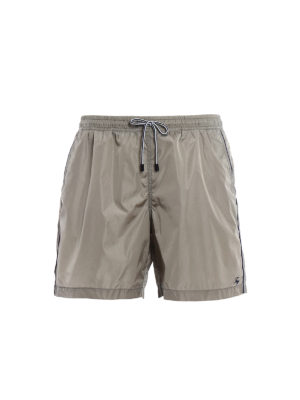 Fay: Swim shorts & swimming trunks - Logo detailed nylon swim shorts