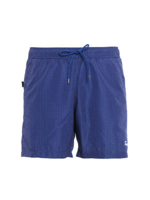 Fay: Swim shorts & swimming trunks - Micro patterned swim shorts