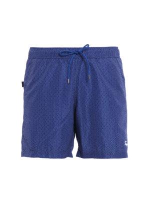 Fay: Swim shorts & swimming trunks - Micro patterned swim shorts
