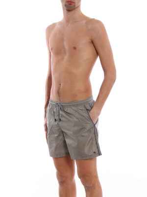 Fay: Swim shorts & swimming trunks online - Logo detailed nylon swim shorts